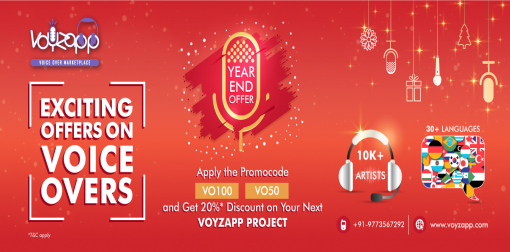 Voice Over Year End Offer
