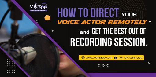 How to direct your voice...