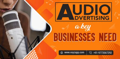 AUDIO ADVERTISING- WHY...