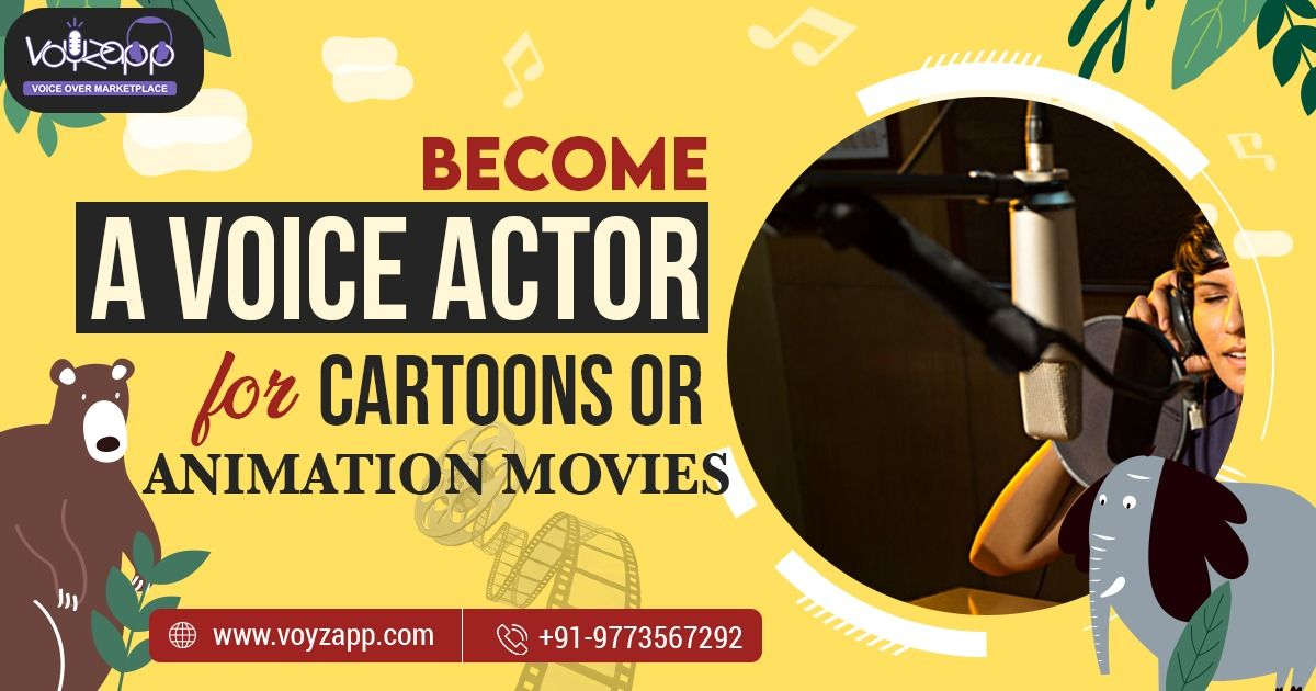 How+to+become+a+voice+actor+for+animation+or+cartoon+movies